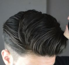 David Mens Hairstyles Pompadour, Hairstyles Haircuts, Cool Hairstyles, Classic Mens Hairstyles, Men's Hairstyle, Medium Hair Styles, Short Hair Styles, Fade Haircut, Hair And Beard Styles