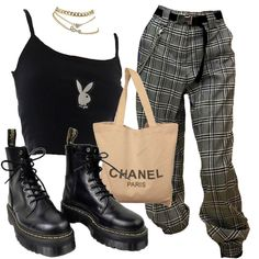 Cute Casual Outfits, Edgy Outfits, Mode Outfits, Retro Outfits, Grunge Outfits, Grunge Fashion, New Outfits, Vintage Outfits, Teen Fashion Outfits