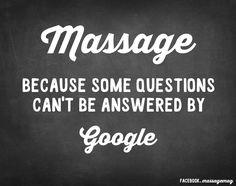 Massage.....