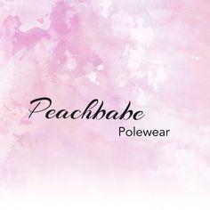 Peaches Polewear stylish activewear for pole dance, swim & gym Pole Dancing, Swimming, Gym, Dance, Logo, Stylish, Swim, Dancing, Logos
