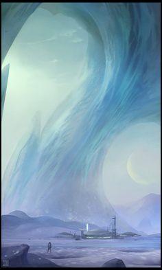 Alien Ice by Hideyoshi.deviantart.com on @deviantART