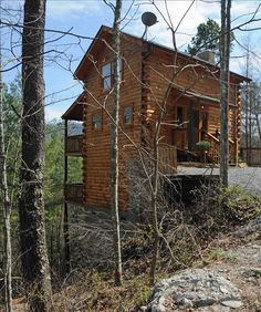 Pigeon Forge Vacation Rental - VRBO 67758 - 1 BR East Cabin in TN ...