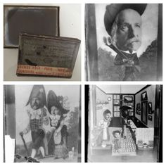 CURIOSA-PHOTO-MONTAGE-ANCIEN-FAMILLE-12-PLAQUES-PHOTO-VERRE-9x12-PHOTOGRAPHIES