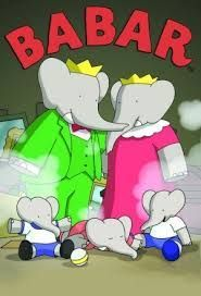 Image result for old tv series Babar (the elephant)