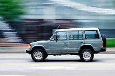 Mitsubishi Pajero -> Hyundai Galloper -> Mohenic Garages redesign - British Gallop www.the.co.kr