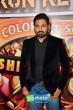 Mithoon at the Press meet of 'Suron Ke Rang' music concert in Mumbai