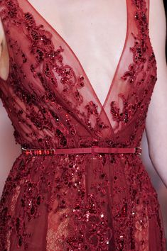 Elie Saab at Couture Fall 2013 - Details Runway Photos