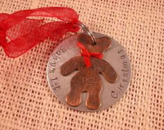 Baby's First Christmas Ornament-Unique Baby's First Christmas Ornament-Teddy Bear Ornament