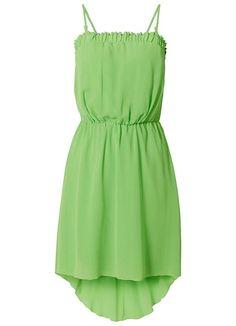 Vestido Tomara-Que-Caia Verde - Bonprix