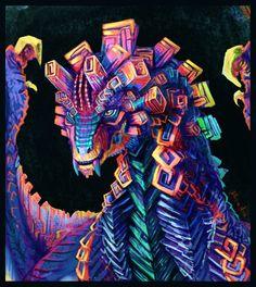 Bismuth Dragon by Decadia on DeviantArt