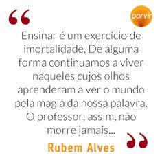 28 Melhores Imagens De Rubens Alves Writers Poems E Words