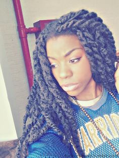 Twists! - http://www.blackhairinformation.com/community/hairstyle-gallery/braids-twists/twists-3/ #braidsandtwists
