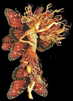 Butterfly Goddess - the essence of regeneration and transformation