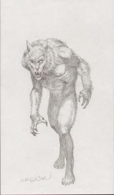 Bernie wrightson | Bernie Wrightson - Werewolf, in Shawn Fritschy's Bernie Wrightson ...