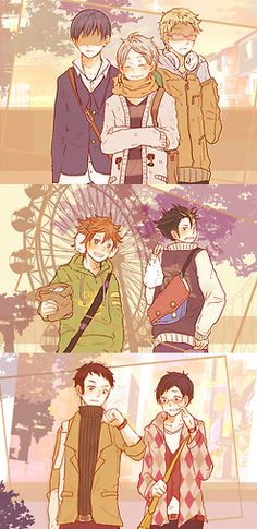 Haikyuu!! ~~ A day at the amusement park can be a lot of fun.