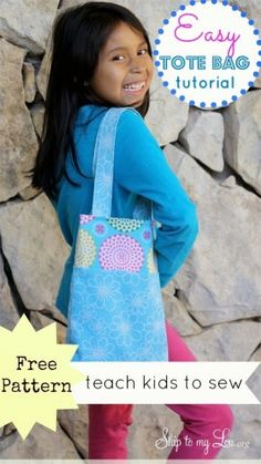 easy tote bag pattern and instructions