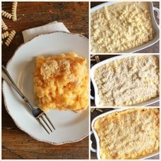 Homemade Baked Macaroni and Double Cheese, a delicious macaroni and cheese baked casserole recipe, the best easy cheesy macaroni family dish
