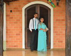 Padrinho e madrinha || casamento no campo