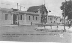 Colegio Civil, 1920, Monterrey, Nuevo León, México. Mexico City, Painting, Travel, Old Photography, Historical Photos, Holland, Zaragoza, Antique Photos, Viajes
