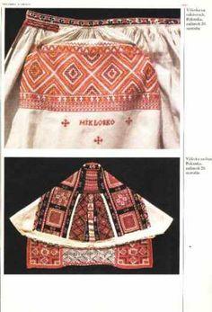 Slovak Folk Embroidery - polomka cap at the bottom Folk Embroidery, Embroidery Patterns, Folk Fashion, Fashion Art, Ethnic Dress, Folk Costume, Bobbin Lace, My Heritage, Decorative Items