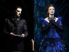Anne O'Bryne as Christine Daaé and Ben Lewis as the Phantom - Love Never Dies