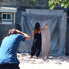 It's happening! OFF SEASON photoshoot! If you can bear to leave the beach swing by the shop to check out the action... @miawoolrich looking gorgeous @nigelscott881 working his magic ✨