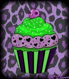 Killer Cupcake by Kama-von-Llama.deviantart.com on @deviantART