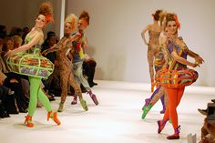 Carlotta Actis Barone S/S13 @ #VFS #LFW - I knew this would be quite good