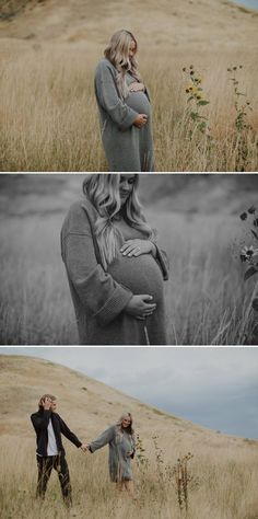 Maternity pictures with your dog and husband. Black and grey maternity outfits. Photography by Tressa Wixom Maternity Studio, Maternity Poses, Maternity Photography, Photography Props, Children Photography, Family Photography, Maternity Photo Outfits, Maternity Sweater Dress, Winter Maternity Pictures