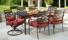 Hampton Bay Middletown 7-Piece Patio Dining Set $399 (33% Off) @ The Home Depot
