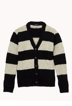 Cozy Stripes Cardigan (Kids) | FOREVER 21 - 2075837931
