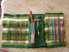 Crochet Knitting Handicraft: beautiful crochet bag Inspiration und Anleitungen