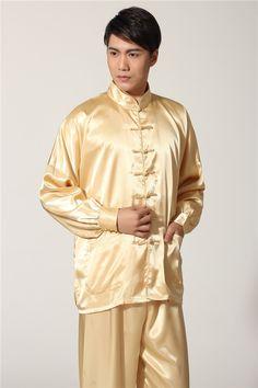 Shirt size Size chart for inches 1 cmSize ChartChest HeightSize : - : : : - : : Size chart for centimeter (cm) 1 . Mens Silk Pajamas, Satin Pajamas, Pyjamas, Gold Man, Muslim Fashion, Mens Fashion, Men's Robes, Pajama Suit, Satin Pyjama Set