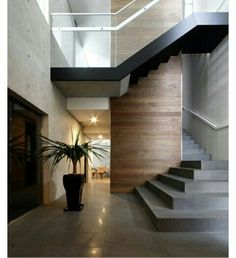 29 Inspiring Modern Staircase Design Ideas – Home Design Interior Stairs, Interior Architecture, Stairs Architecture, Exterior Design, Interior And Exterior, Beton Design, Home Modern, Modern Art, Modern Stairs
