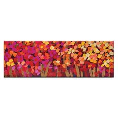Summer Blooms by Anna Blatman Painting Print on Canvas