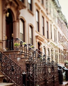 The Apartment - NYC Photo, Carrie Bradshaw's Apartment in Greenwich Village, Spring, Travel Photography