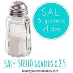 Cuánta sal debemos consumir diariamente? Conoce el límite diario y las razones del mismo
