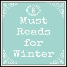 8 Must Reads for Winter - Pinned by @PediaStaff – Please Visit http://ht.ly/63sNt for all our pediatric therapy pins