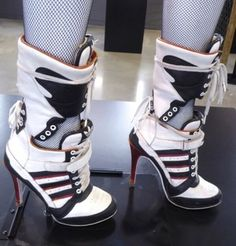 shoes adidas x jeremy scott adidas jeremy scott harley quinn suicide squad  adidas adidas shoes adidas