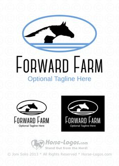 """""""Horse head #logo of a mare and foal in a clean and simple design. Both the mare and foal have their ear up and forward looking to the right like watching for others coming back from a trail ride.""""  http://www.horse-logos.com/horse-logos-c-2/stock-logos-c-2_4/exclusive-logos-c-2_4_7/mare-and-foal-logos-c-2_4_7_13/mare-and-foal-logo-forward-farm-p-71.html  #horselogo #design #art #equine #mare #foal"""