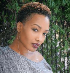 Tapered Cut Elegant Beauty IG:@@amber_tai @stepthebarber #naturalhairmag #naturalhair