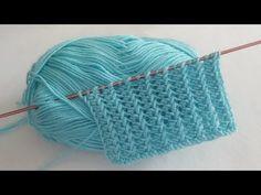 Ne Kolaymış Diyeceğiniz Örgü Modeli / Strickmuster /knitting patterns - YouTube