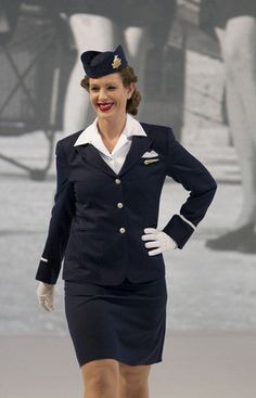 Air Canada flight attendant