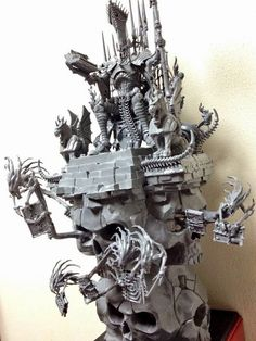 The Rest of the Scribe: Touching more the figure of Nagash, by Amon