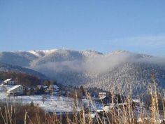 Saint-Maurice-sur-Moselle: Le Ballon de Servance en hiver - France-Voyage.com