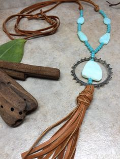 Tassel Necklace Peruvian Opal Sterling Silver - Pantone Island Paradise- Mother Earth Collection - Gemstone Tassel Necklace >>>>>>>>>>>>>>>>>>>>>>>>>>>>>>>>>>>>>>>>>>>>>>>>>>>>>>>>> Check out the rest of our etsy shop... https://www.etsy.com/shop/fuessionjewelry Want 20% off coupon instantly? join o...