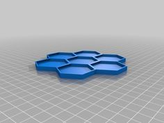 Nespresso Capsule Honeycomb Snowflake Wall Holder by antohneeo - Thingiverse