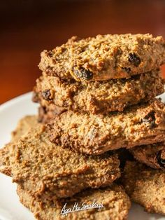 Food N, Food And Drink, Healthy Deserts, Polish Recipes, Paleo, Lunch Box, Sweets, Vegan, Cookies