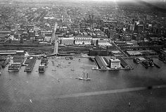 A snapshot of the Toronto harbour in 1919 - via blogTO