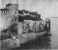 Rabat  Fortification  Bords de l'oued Bouregreg, un coin de la kasba des Oudaïas  1916.04.20